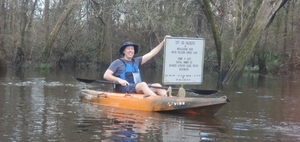 [Mayor and WWTP outfall sign, 09:39:32, 30.8360190, -83.3594110]