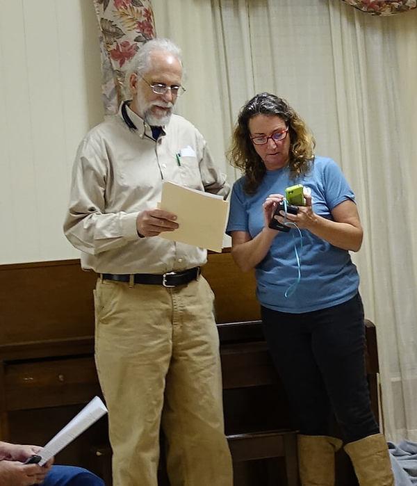 Photo: Jim Tatum, Suwannee Riverkeeper John S. Quarterman and OSFR Founder Merillee Malwitz-Jipson