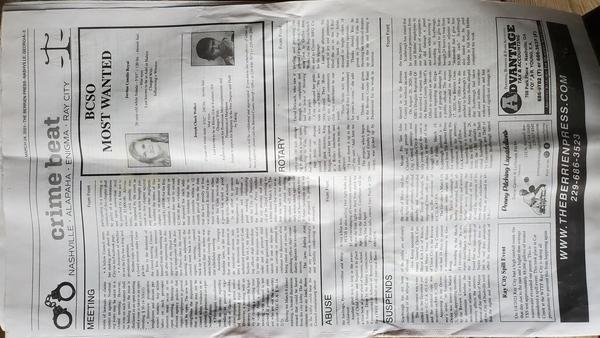 [Page 3 Berrien Press]