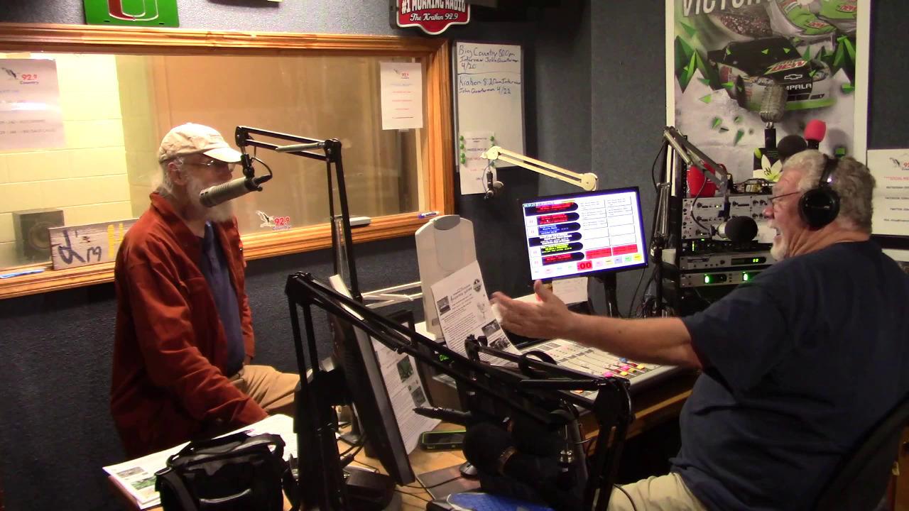 Suwannee Riverkeeper and Big Country Wes James on WAAC FM Rivers Radio 2021-04-20