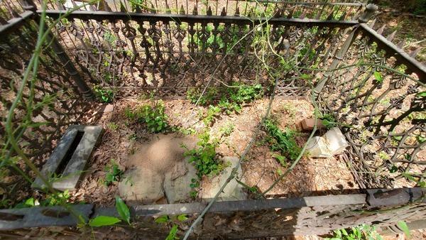 [Small iron fence, 31.0267379, -83.2880328]