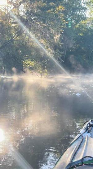 [Early morning smoke on the water (fog)]