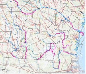 Reclassify as Recreational: rivers, swamps, Suwannee River Basin