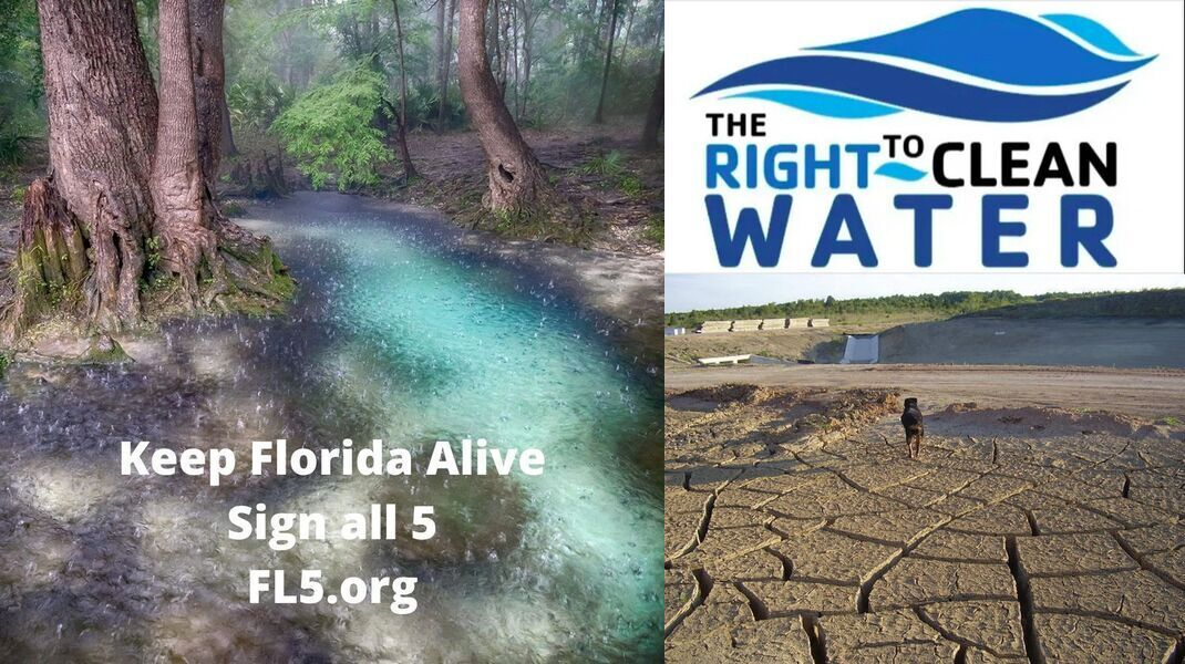 [Sign all 5: Right to Clean Water, Ban new toll roads, and more]