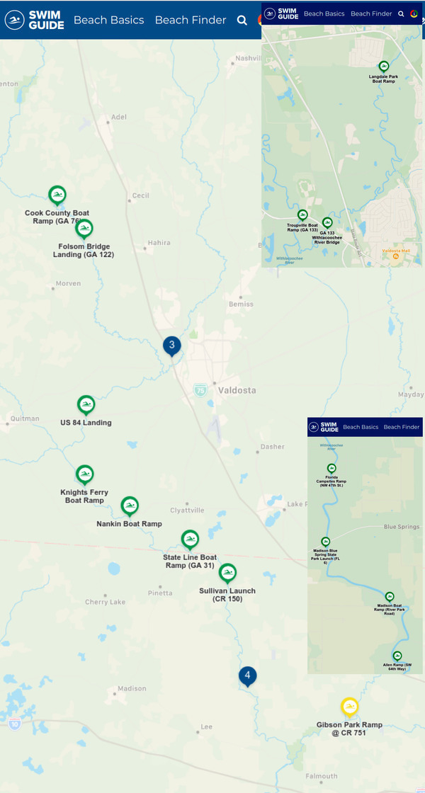 [Swim Guide: all clear, Withlacoochee River, Little River 2021-05-20]