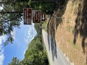 [Kinard Bridge Road Sign West, Little River, Cook County, GA]