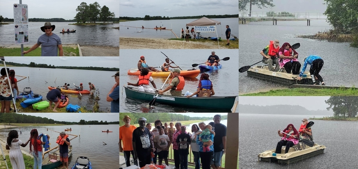 [Juneteenth at Reed Bingham State Park Lake with Macedonia Community Foundation and Suwannee Riverkeeper]