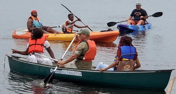 [Suwannee Riverkeeper canoe]