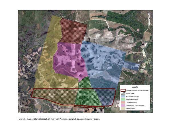 [Proposed permit area including TIAA land (Exhibit C)]