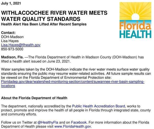 [Lifting Bacterial Advisory, Madison Health 2021-07-01]