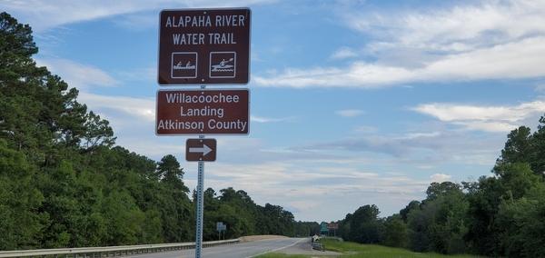 [Willacoochee Landing @ GA 135, Atkinson County, Alapaha River Water Trail]