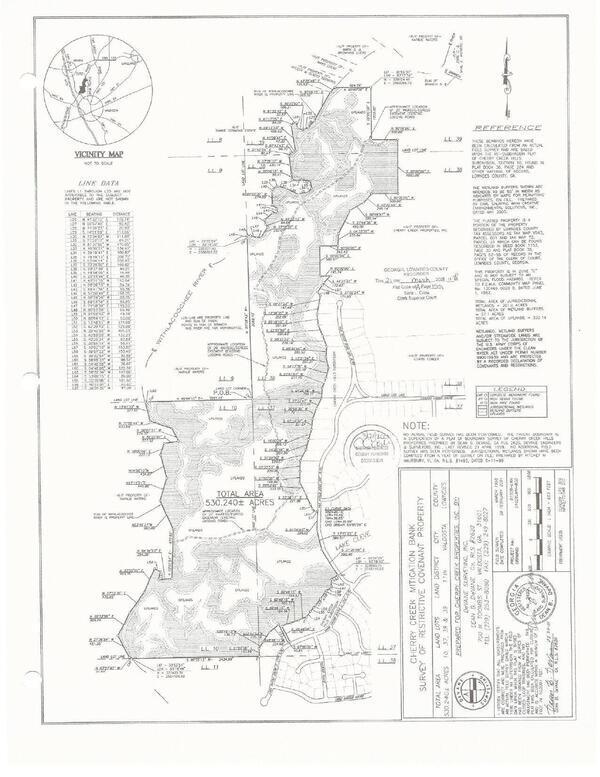 [Cherry Creek Mitigation Bank Map]