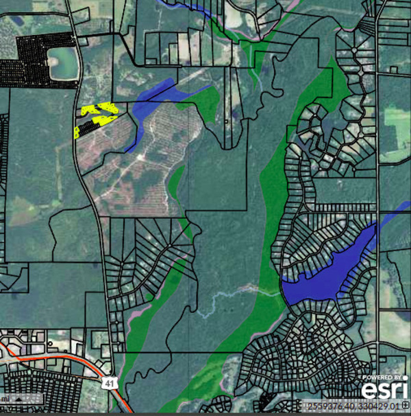 [Map: Bettys Place and Uvalde]