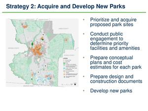 [Strategy 2: Acquire and Develop New Parks]