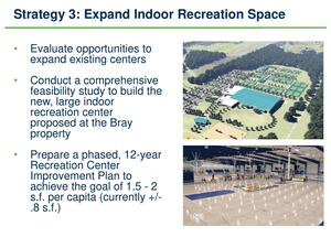 [Strategy 3: Expand Indoor Recreation Space]