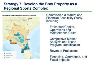 [Strategy 7: Develop the Bray Propert as Regional Sports Complex]