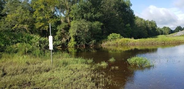 [Hagan Bridge Landing Sign, Withlacoochee River @ GA 122 2021-09-09]