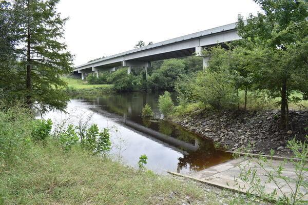 [State Line Boat Ramp Bridge, Withlacoochee River @ GA 133 2021-09-09]