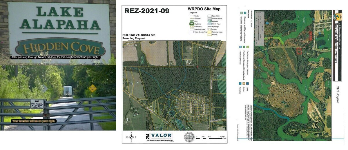 [Lake Alapaha water treatment, Bay Branch tributaries in Building Valdosta Subdivision, Army Corps on Val Del Villas]