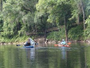 [Suwannee Riverkeeper at fancy dock, 10:54:08]