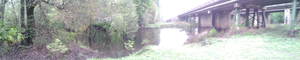US 41 bridge over Withlacoochee River 30.8947222, 83.3261111