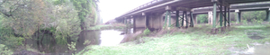 Withlacoochee River and US 41 bridge 30.8947222, 83.3261111