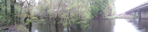 Withlacoochee River at US 41 bridge 30.8936111, 83.3227778