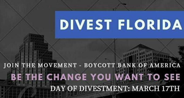 Day of Divestment at Bank of America